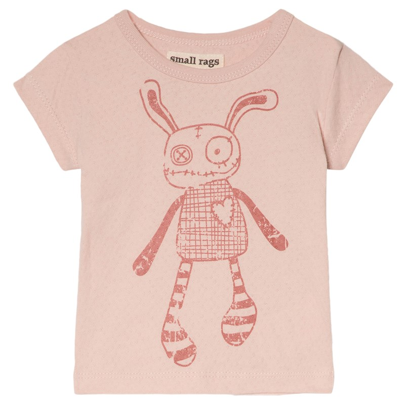 Small Rags Grace T-Shirt Sepia Rose 86 cm