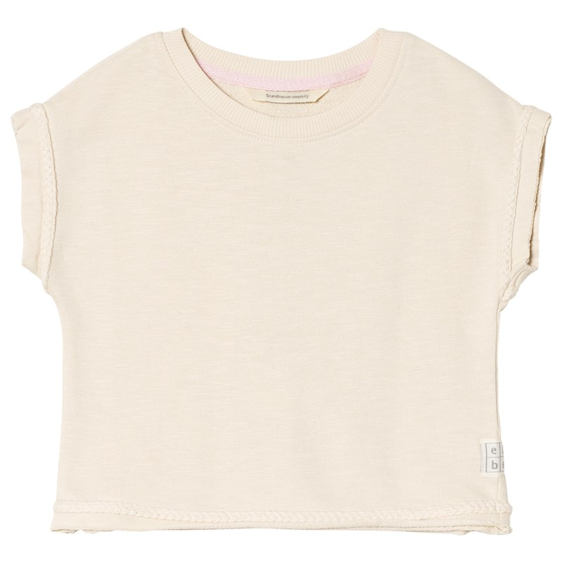 ebbe Kids Rose Sweat Topp Vanilla white 122 cm