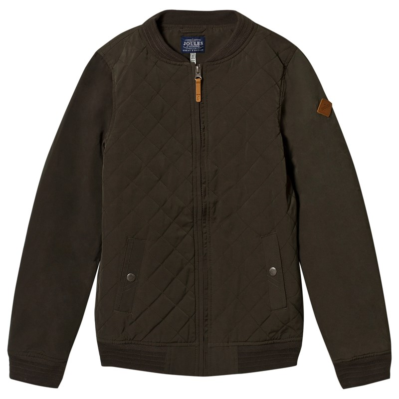 Joules Quiltad Bomber Jacka Khaki 4 years