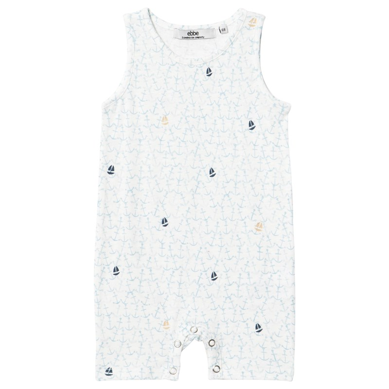 ebbe Kids Young Romper Ocean of anchors 56 cm