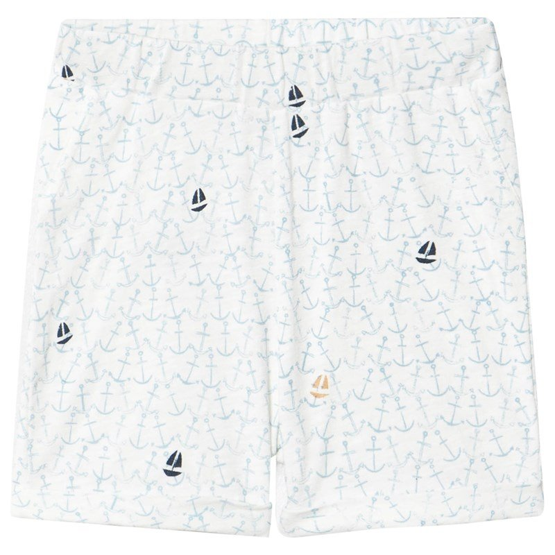 ebbe Kids Yatzy Relaxed Shorts Ocean of anchors 68 cm