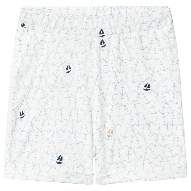 ebbe Kids Yatzy Relaxed Shorts Ocean of anchors 86 cm