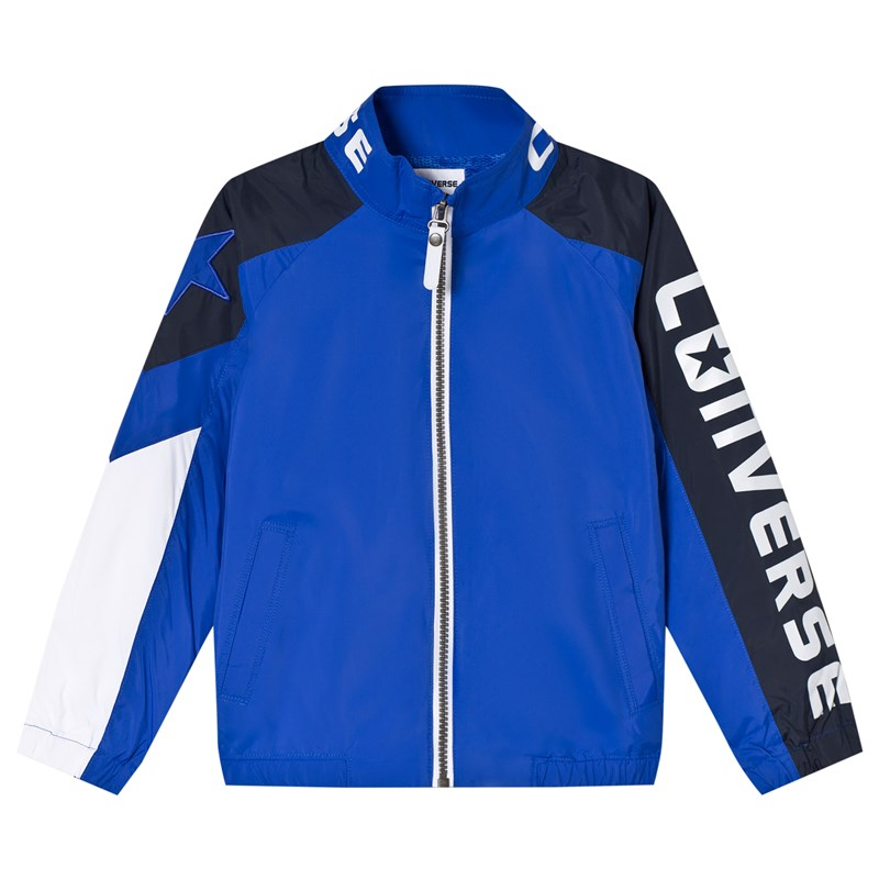 Converse Royal Blue Woven Sport Bomber Jacka 3-4 years