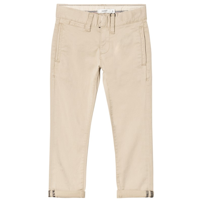 Name It Robin Twianders Cropped Chino White Pepper 128 cm