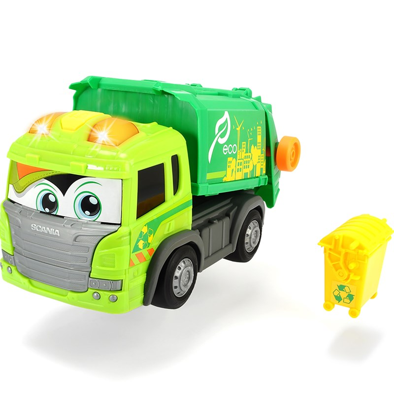 Dickie Happy Scania Garbage Truck 24 months – 5 years