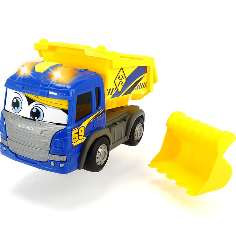 Dickie Happy Scania Dump Truck 24 months – 5 years