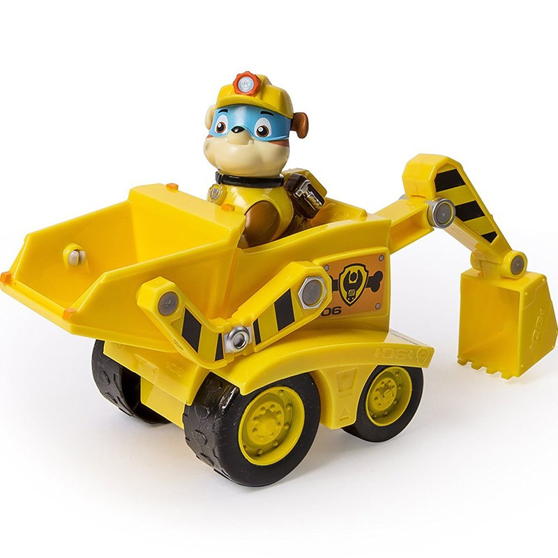 Paw Patrol Basic Vehicle With Pup Rubble´s Dump Truck 3 – 7 år