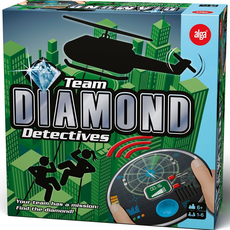 Bilde av Alga Diamond Detectives One Size