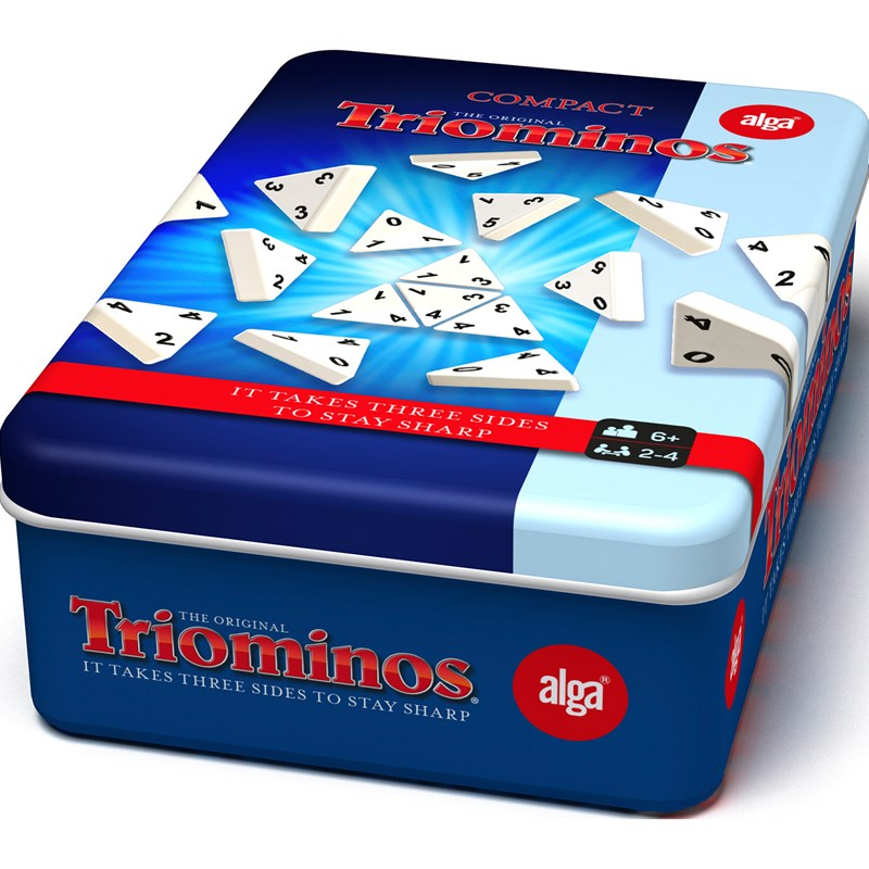Bilde av Alga Triominos Travel Tour Tin 6+ Years