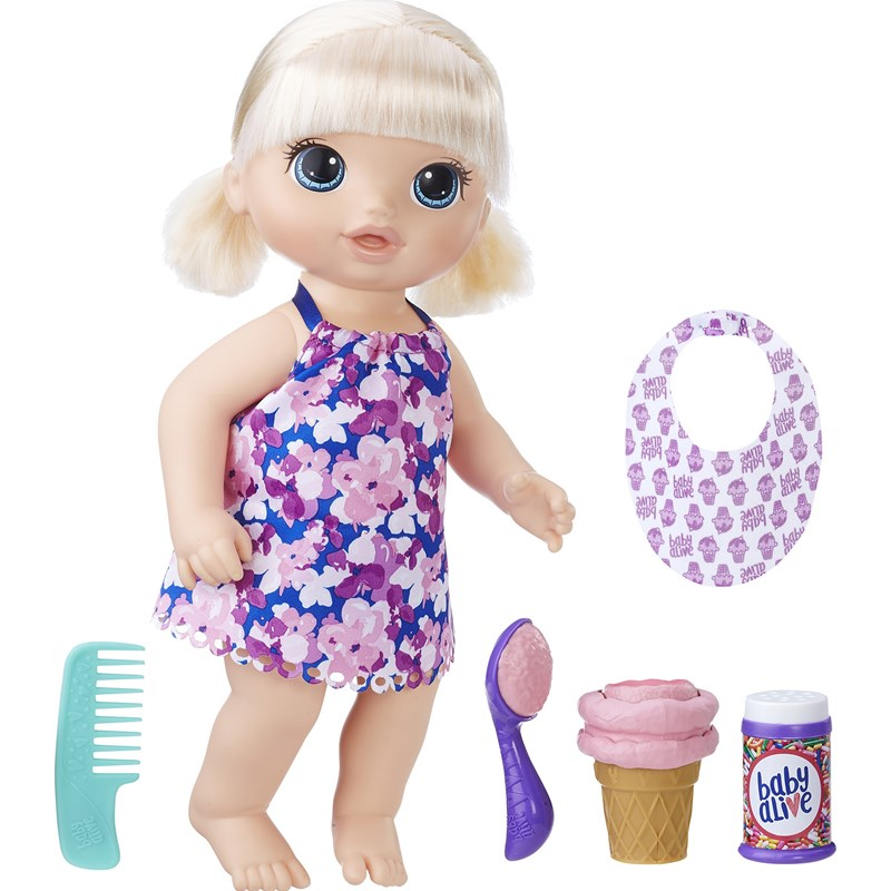 Baby Alive Magical Scoopes Baby Girl Blonde 3 – 7 år