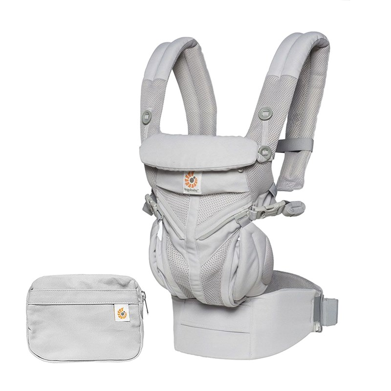 Ergobaby Bärsele Omni 360 Cool Air Grey One Size