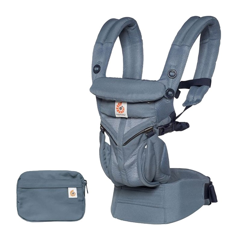 Ergobaby Bärsele Omni 360 Cool Air Oxford Blue One Size