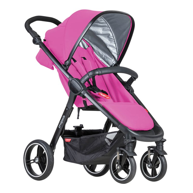 Phil and Teds Smart Barnvagn Rasberry One Size