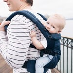 Ergobaby Baby Carrier Omni 360 Cool Air Midnight Blue