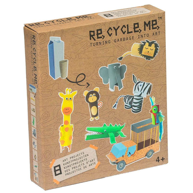 Re-Cycle-Me Jungle Theme 4 – 10 years