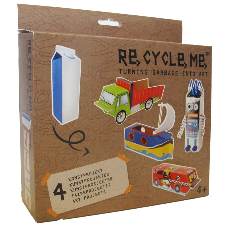 Re-Cycle-Me Milk Carton I 4 – 10 years