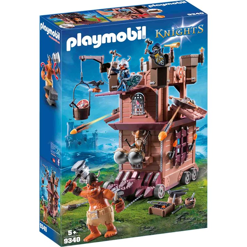 Playmobil 9340 Mobile Dwarf Fortress 5 – 12 years