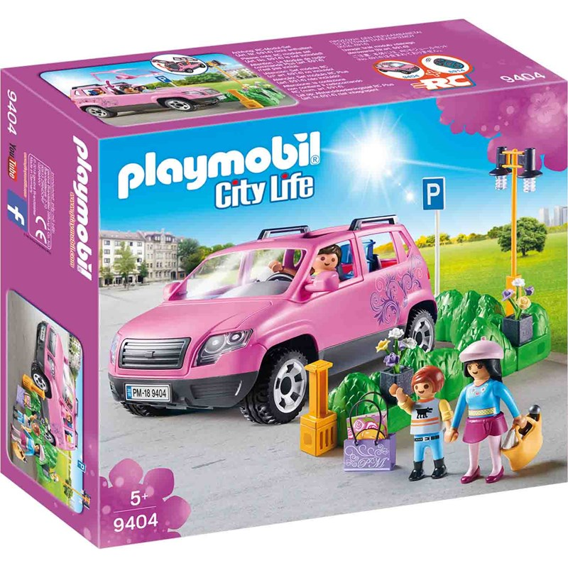 Playmobil 9404 Family Car with Parking Space 5 – 12 years