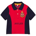 Joules Tom Joule Red/Navy Broderad Piké
