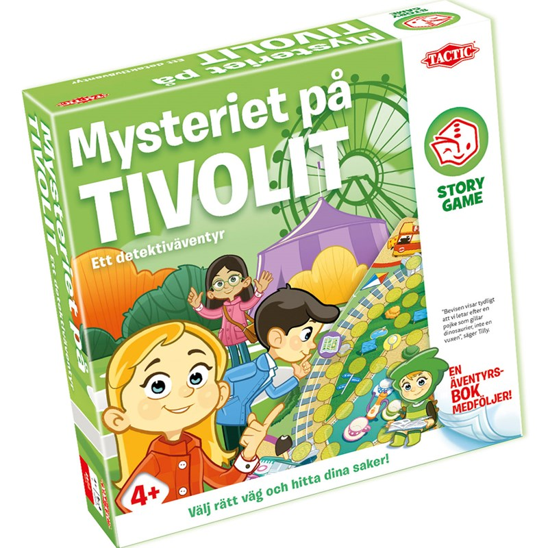 Tactic Mysteriet på Tivolit Story Game 4 – 7 years