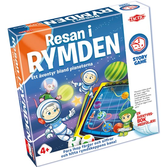 Tactic Resan i Rymden Story Game