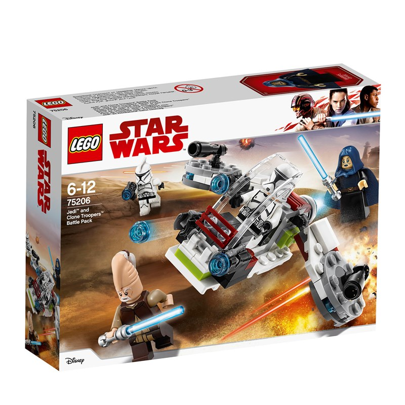 LEGO Star Wars 75206 LEGO Star Wars® Jedi™ and Clone Troopers™ Battle Pack One Size