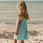 ebbe Kids Zabina dress Turkos Palmer