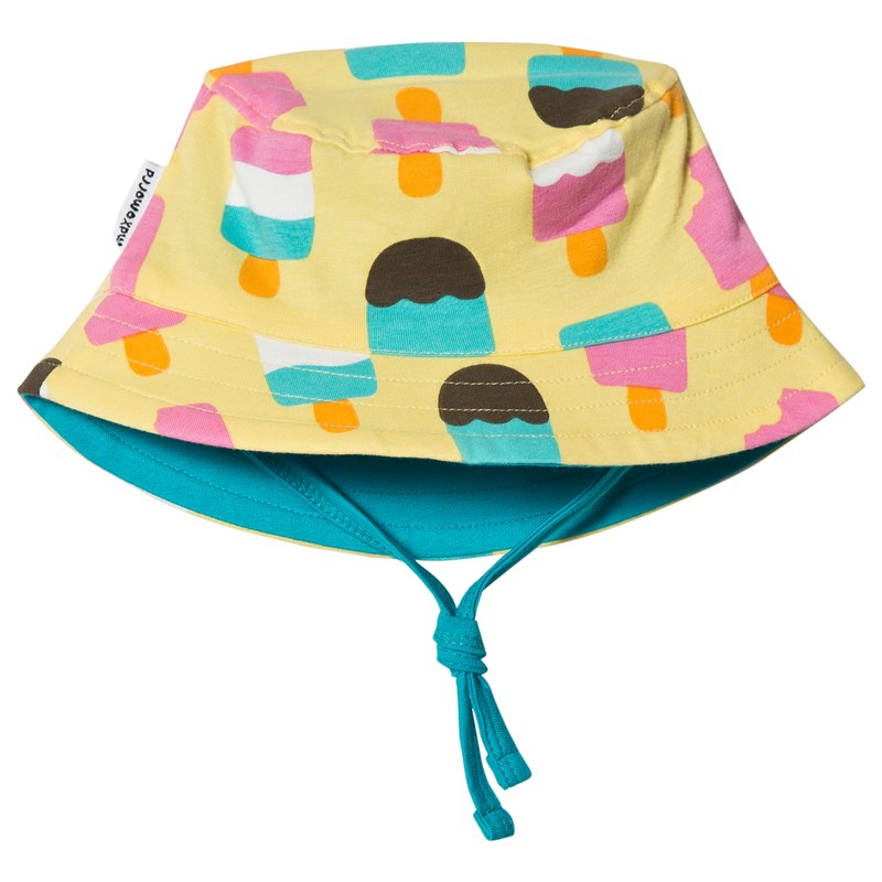 Maxomorra Solhatt Ice Cream Yellow 44/46 cm