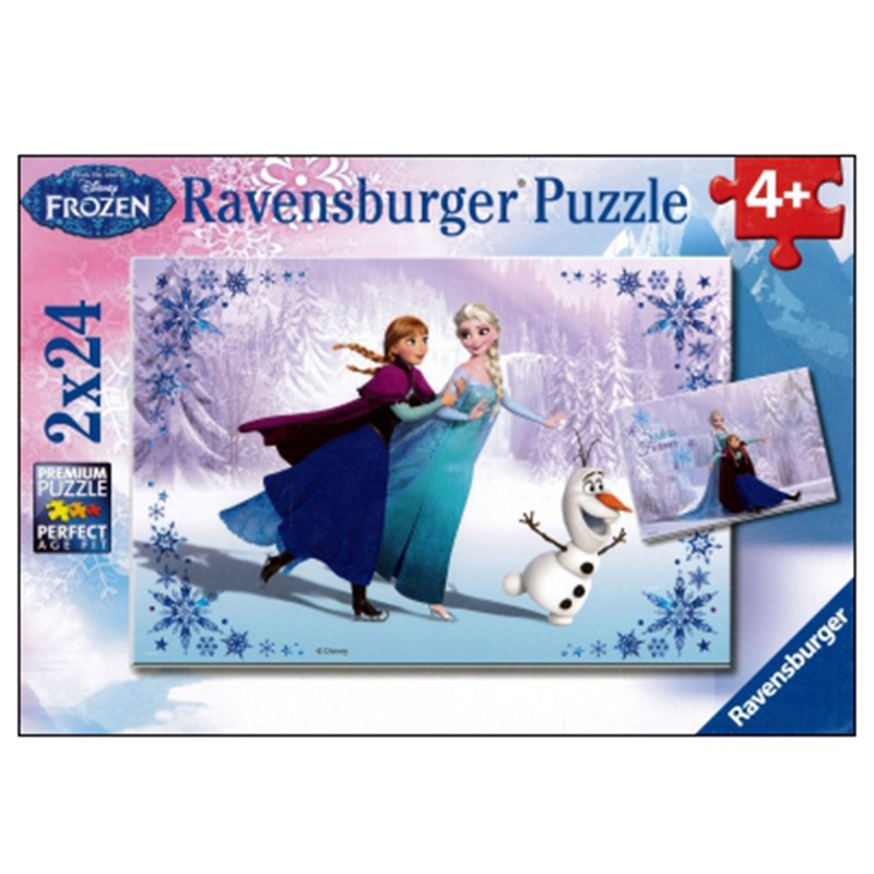 Ravensburger Pussel Frozen Sisters Always 2 x 24 bitar One Size