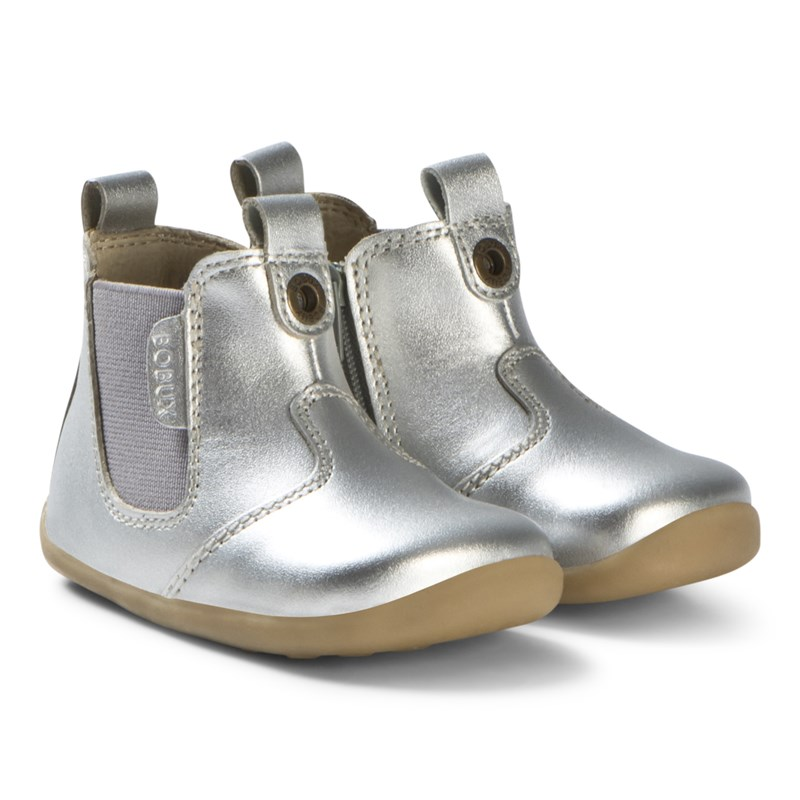 Bobux Boots Step Up Jodphur Silver 19 EU