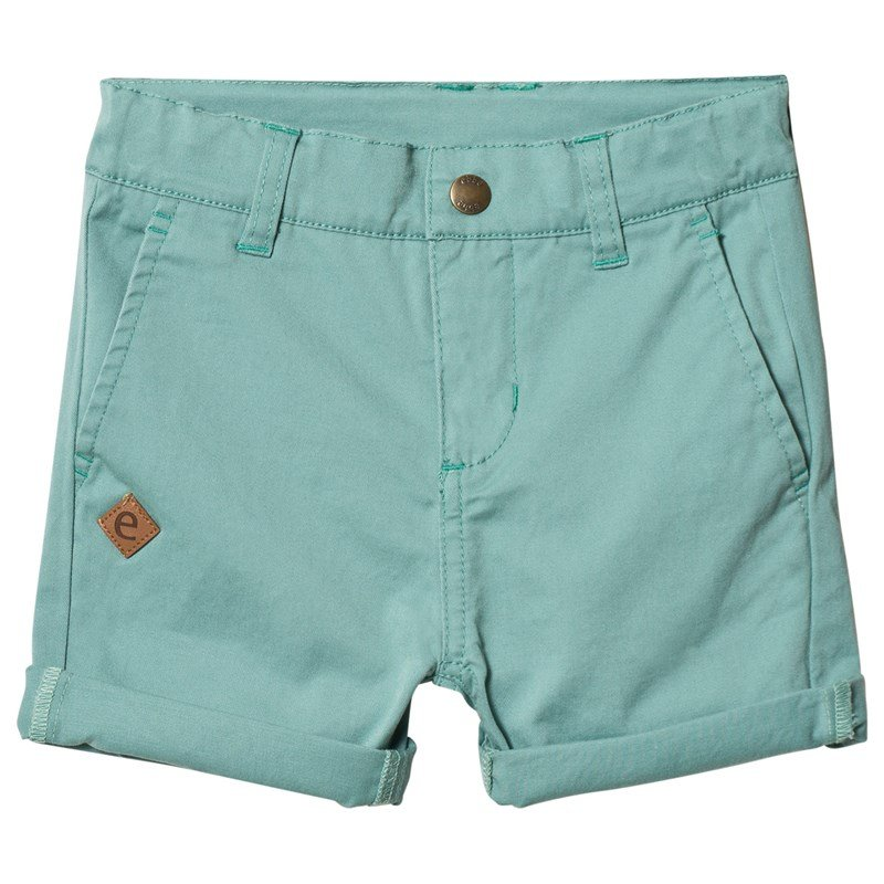 ebbe Kids Florin Chinos Shorts Dusty turquoise 92 cm