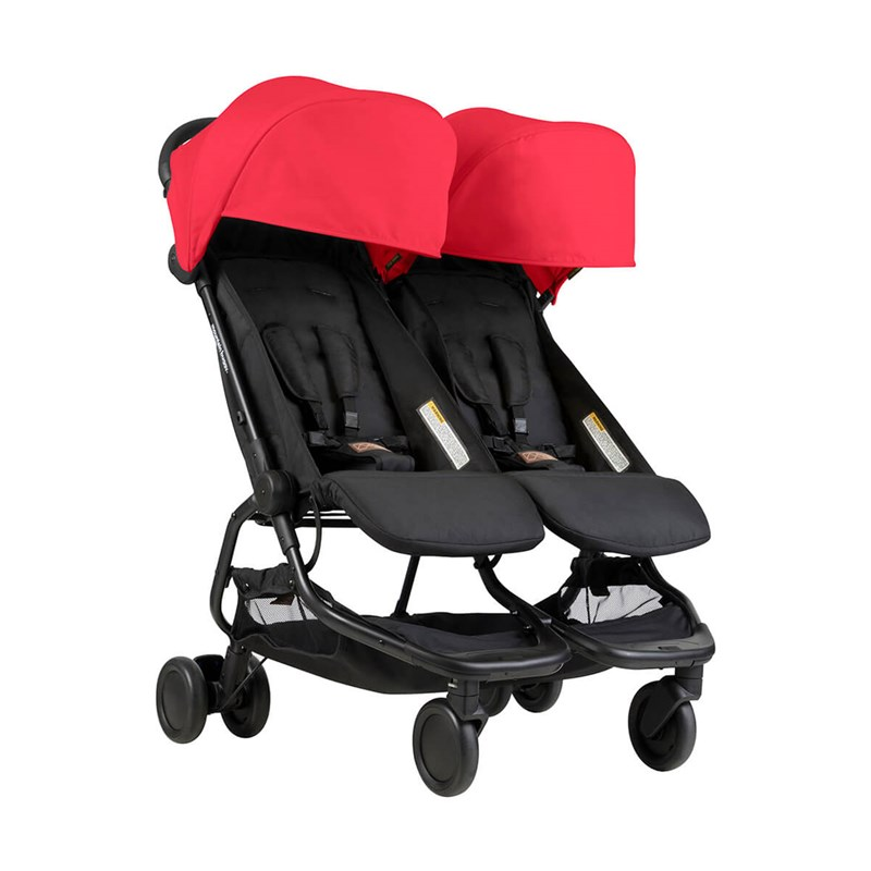 Mountain Buggy Nano Resevagn Ruby One Size