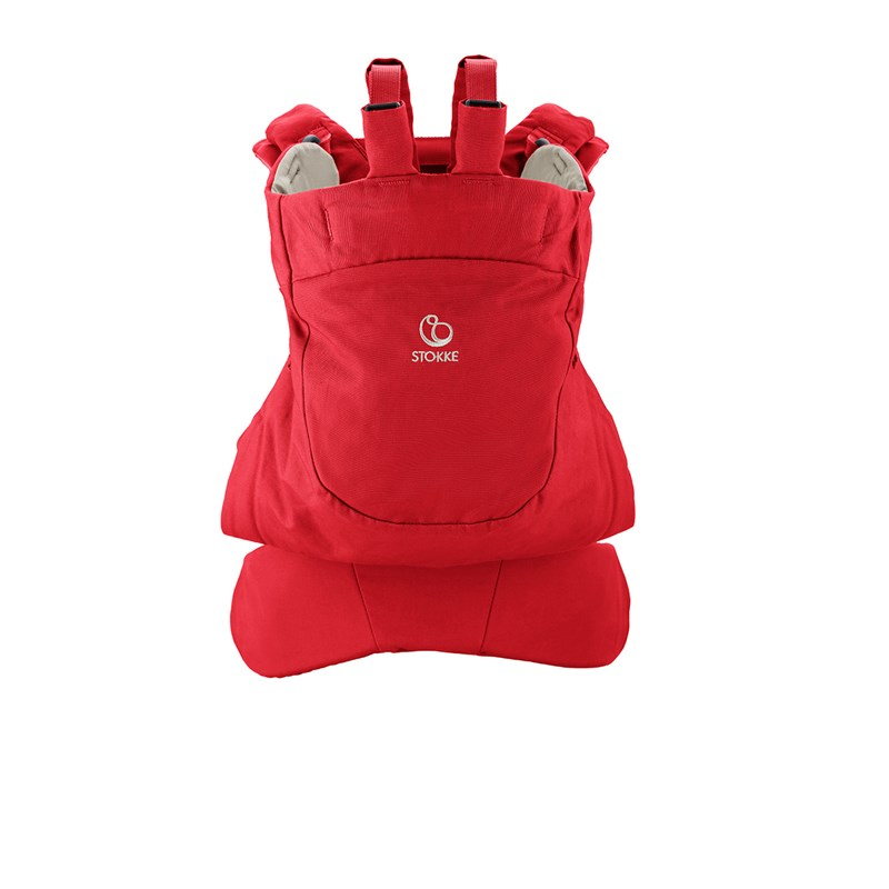 Stokke MyCarrier Back Carrier Red One Size