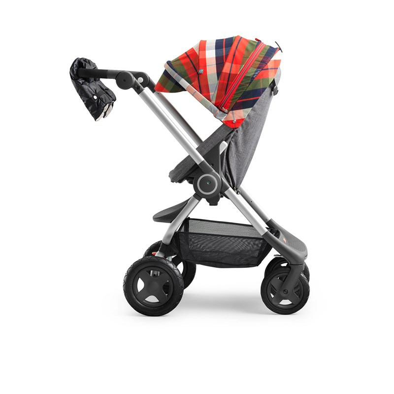 Stokke Scoot Winterkit Flannel Red One Size