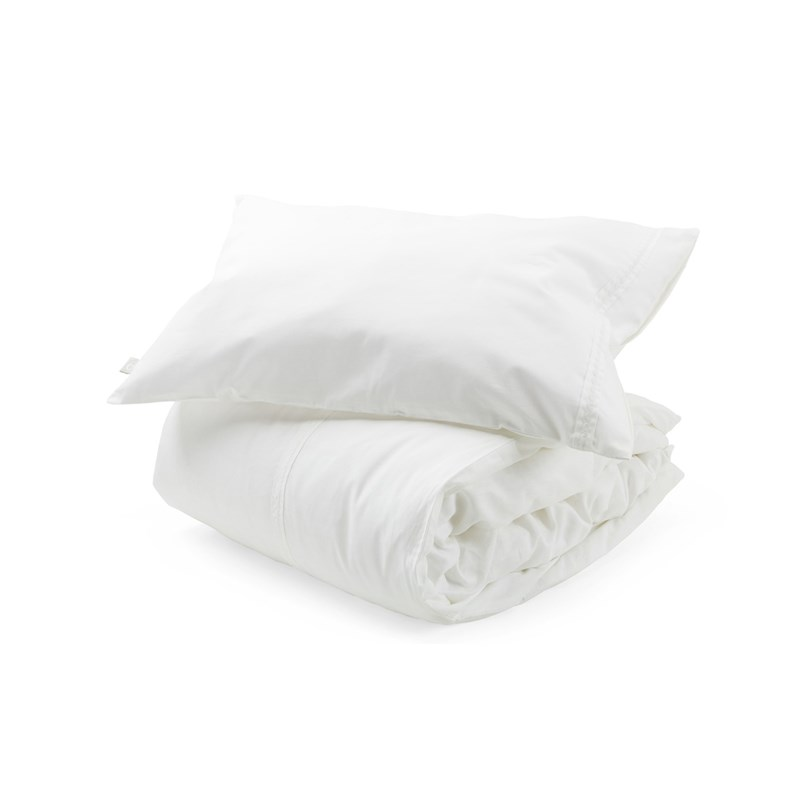 Stokke Bed Linen + Pillow Case White One Size