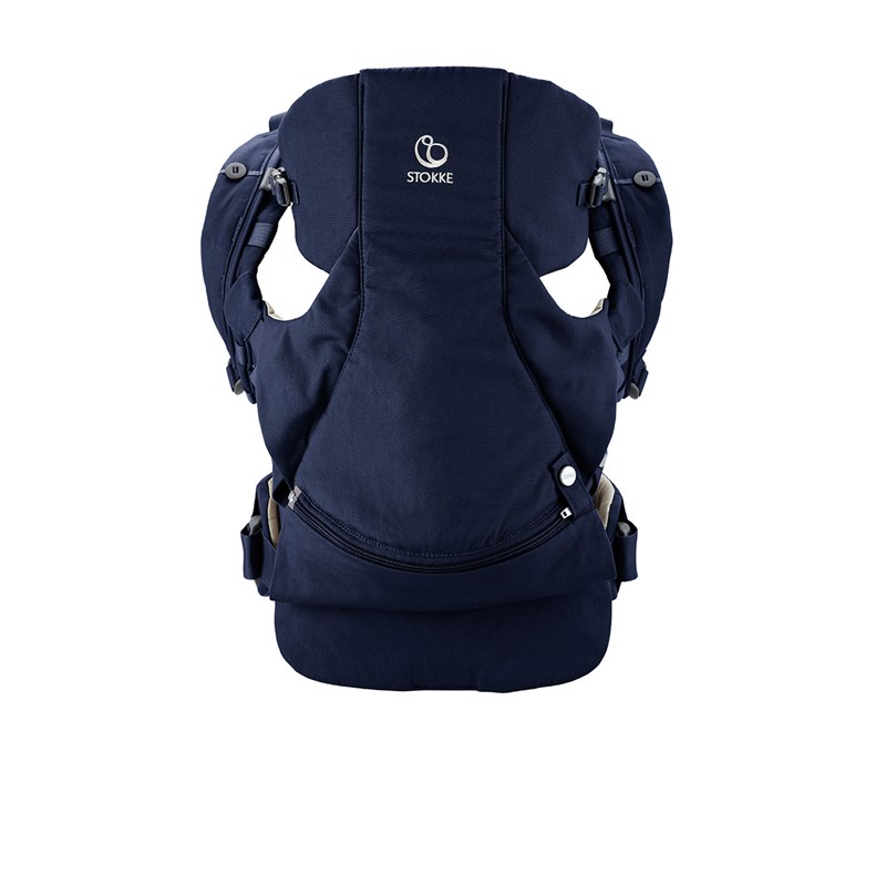 Stokke MyCarrier Front And Back Carrier Deep Blue One Size