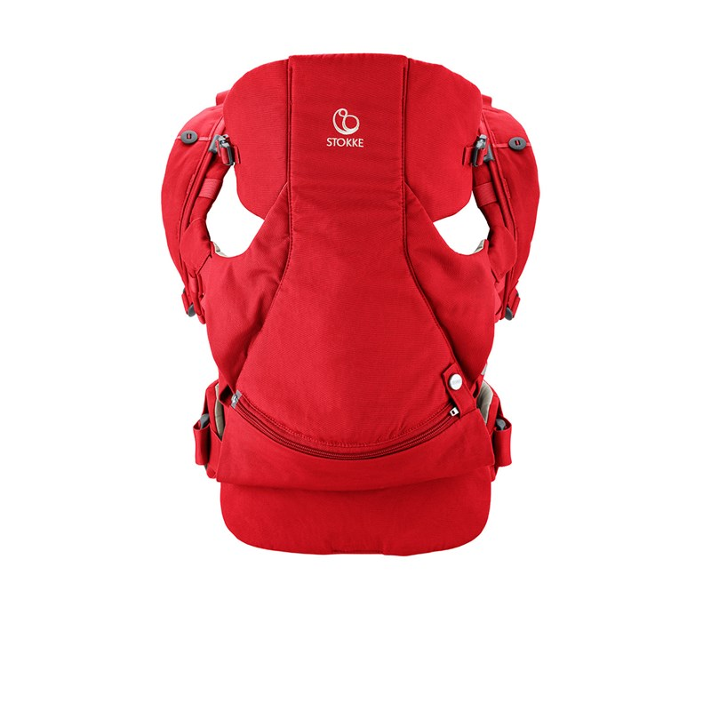 Stokke MyCarrier Front And Back Carrier Red One Size