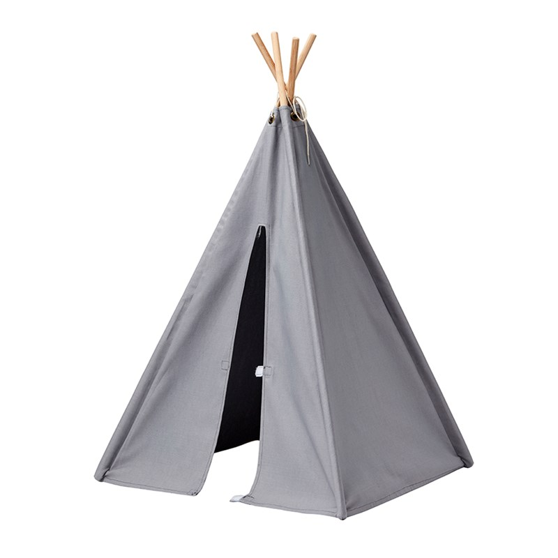 Kids Concept Mini Tipi Tält Grå One Size