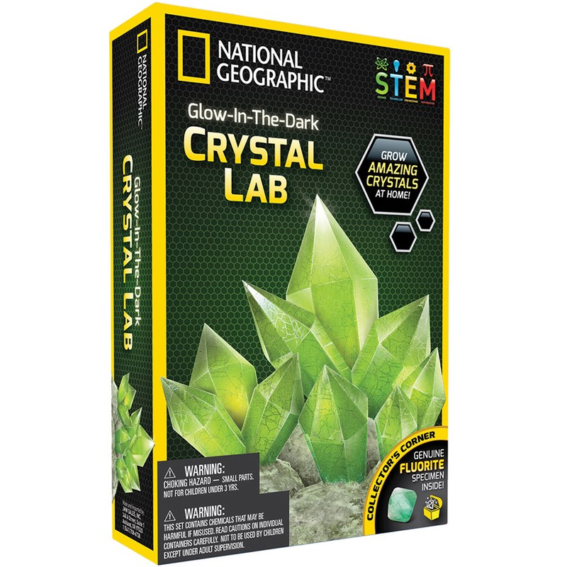 National Geographic Glow In The Dark Crystal Kit 7 – 12 years