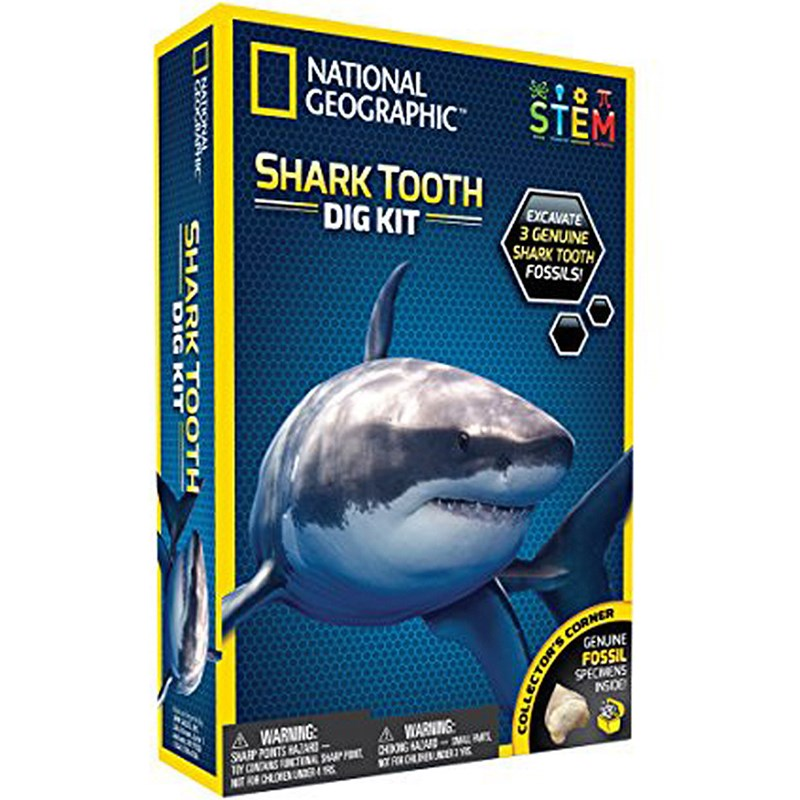 National Geographic Shark Tooth Dig Kit 7 – 12 years