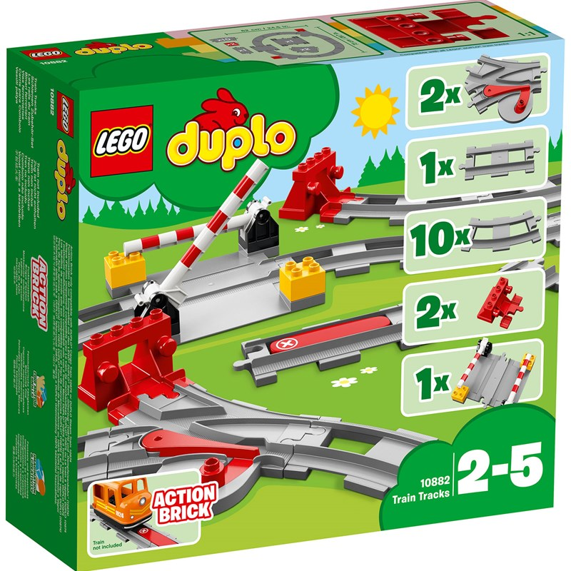 LEGO DUPLO10882 LEGO® DUPLO® Town Train Tracks