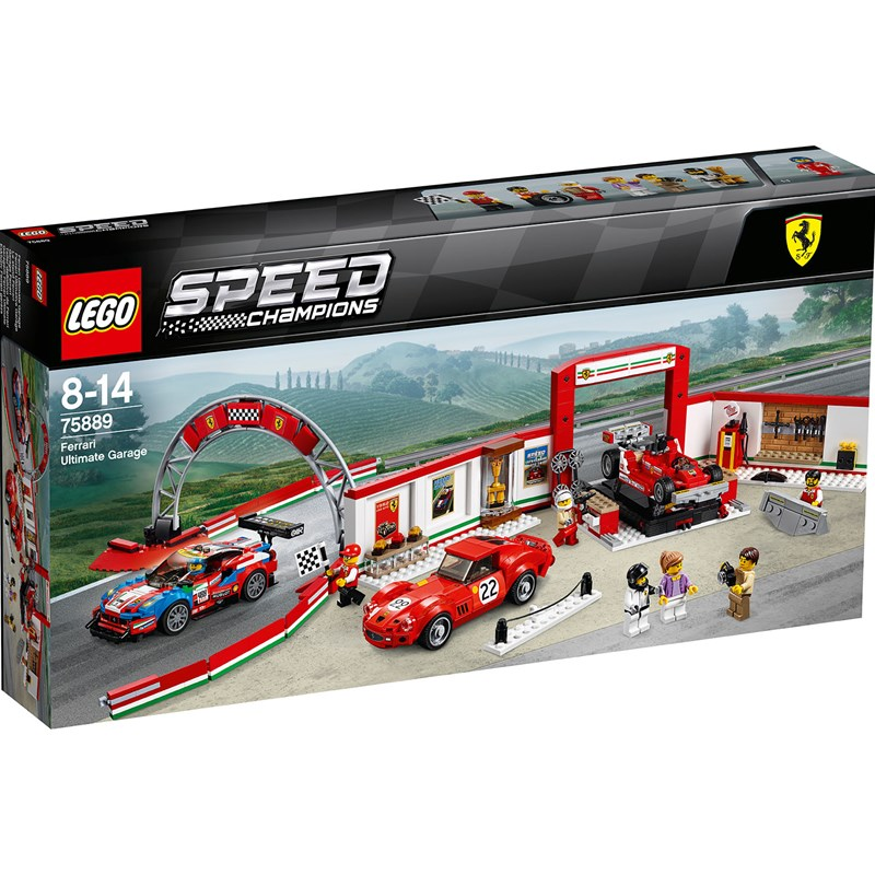 LEGO Speed Champions 75889 LEGO® Speed Champions Ferrari Ultimate Garage One Size