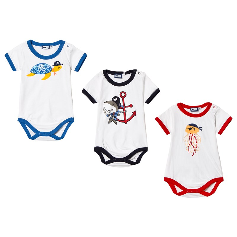 Max Collection Baby Body 3-Pack Vit 68 cm