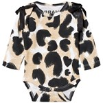 The BRAND Interlock Baby Body Leopardmönster