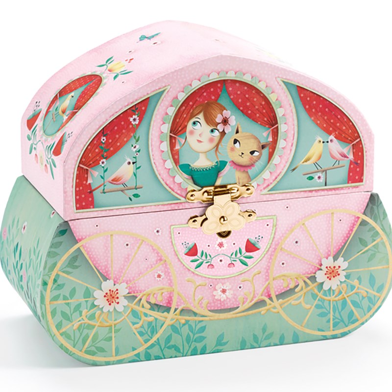 Djeco Music Box Carrige Ride One Size