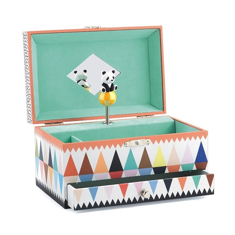 Djeco Music Box Panda`s Song One Size