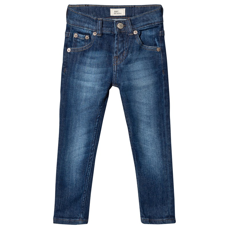 Levis Kids 519 Byxa Mid Wash Blå 14 years