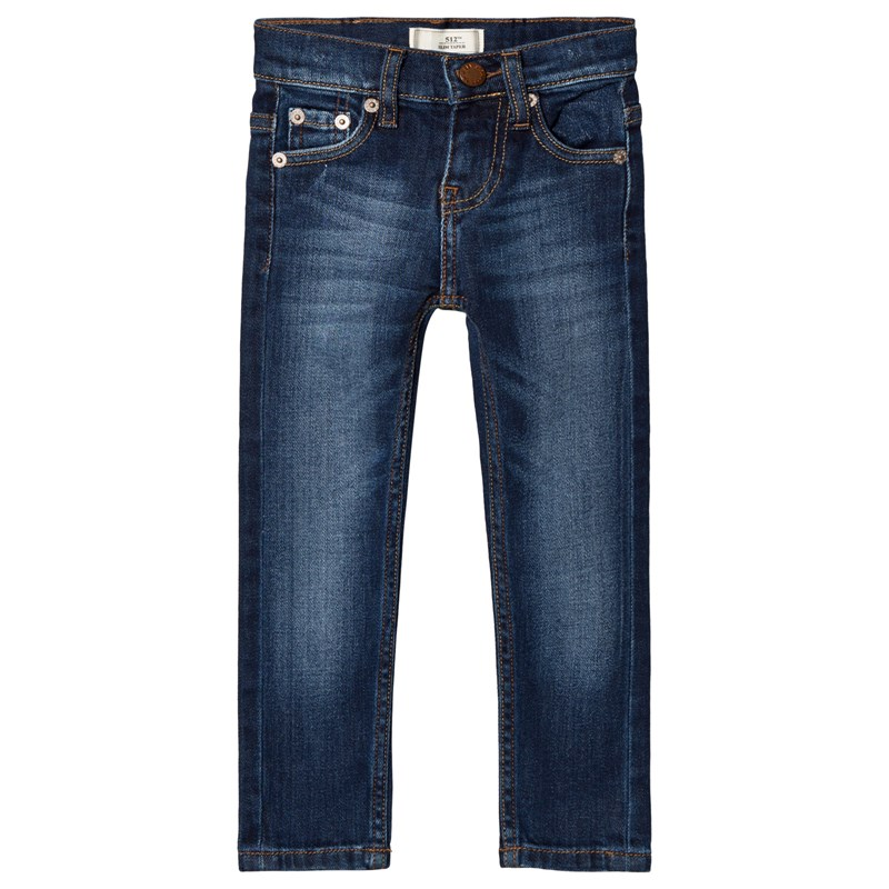 Levis Kids 512 Byxa Mid Wash Blå 14 years