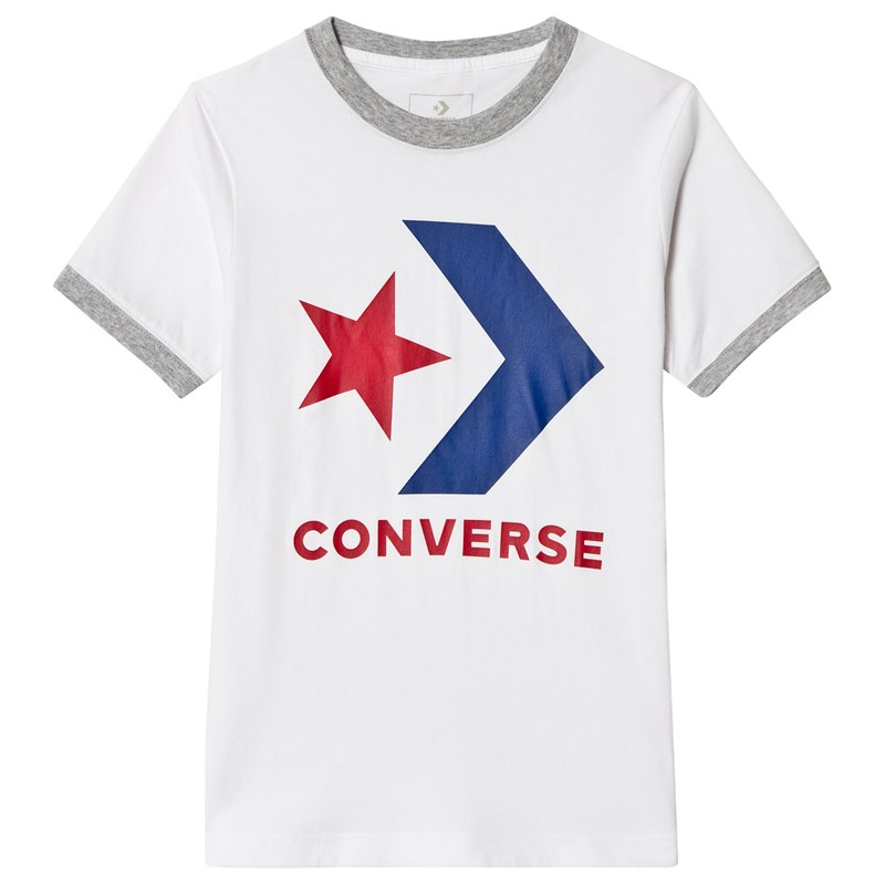 Converse Star Chevron T-shirt Vit 10-12 years
