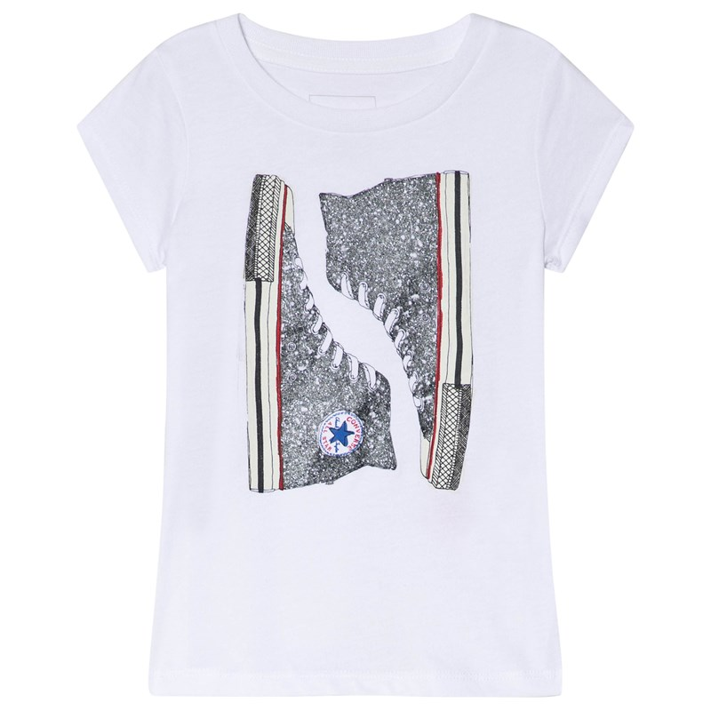 Converse Chucks T-Shirt Vit 3-4 years